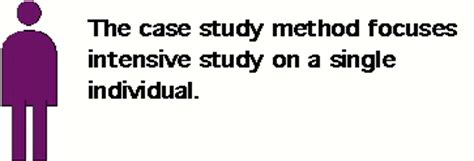 Case study methods in psychology